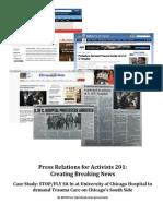 Public Relations for Activists 201
