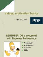 Motivation Basics 9-17-08timings
