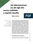 La Izquierda Latinoamericana a Comienzos Del Siglo XXI Nuevas Realidades y Urgentes Desafios - Atilio a. Boron