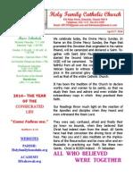 hfc april 27 2014 bulletin