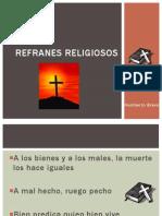 Refranes Religiosos