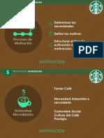 Motivación de Compra Starbucks