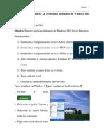 08 Como Someteria Windows Xp Profesional Al Dominio de Windo