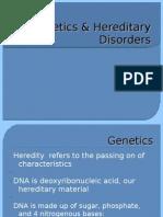 Genetics & Hereditary Disorders