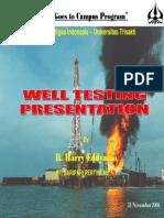 05 Well Testing - Trisakti 25 Nov 2006