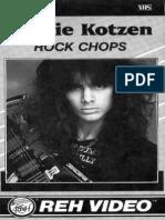 Richie Kotzen - Guitar Lessons