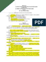 Titulo II - Das Obrigações e Dos Deveres Policiais-militares
