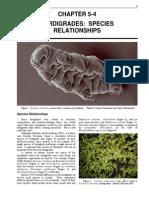 Tardigrades Species Relationships