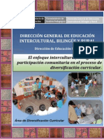 Enfoque Intercultural Bilingue en La Divesificacion Curricular