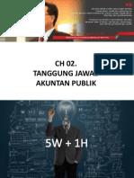 Ch. 02 - Tanggung Jawab Akuntan Publik