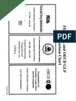 FDA EPA OECD GLP Comparison Chart