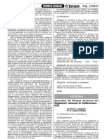 Reglamento Nacional de Tasaciones del Perú