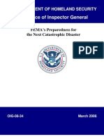 FEMA_preparedness Report 2008