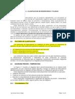 Capítulo 2 Clasificación de Reservorios y Fluidos