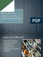 Minerales de Cobre en El Perú