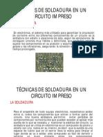 Técnicas de Soldadura en Un Circuito Impreso 2