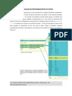 Lenguajes de Programación de Alto Nivel