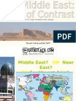 Middle East Geography 2009