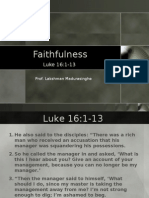 FAITHFULNES