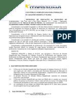 Minuta Do Edital de Seleção Pública Simplificada Para Provimento de Contrato Por Tempo Determinado de Excepcional Interesse Público Nº 01 (Salvo Automaticamente)