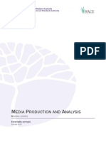 media-production-and-analysis general externally set task