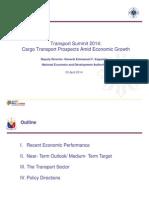 "Neda presentation on ""Cargo Transport Prospects"""