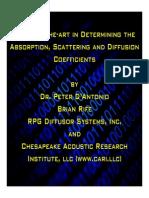 1 Acoustical Coefficients