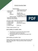 Analisa urin