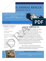 Situation Analysis for a Pet Rescue Organization