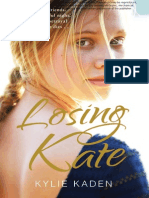 April Free Chapter - Losing Kate by Kylie Kaden