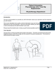Hip Replacement - Physiotherapy After Total Hip Replacement