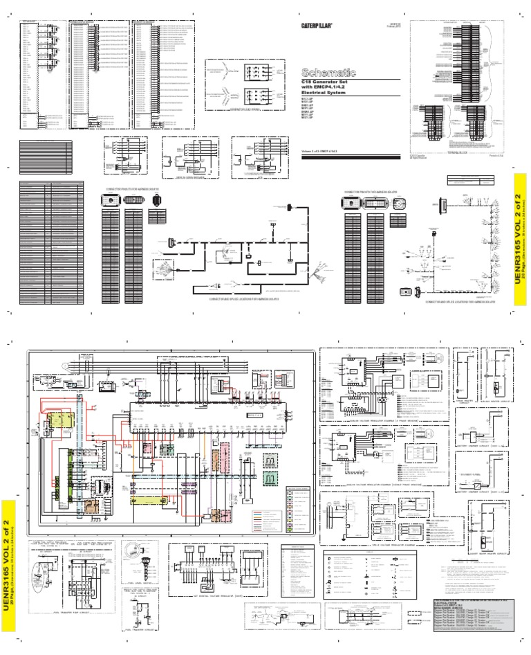caterpillar emcp 4 wiring diagram  caterpillar  free
