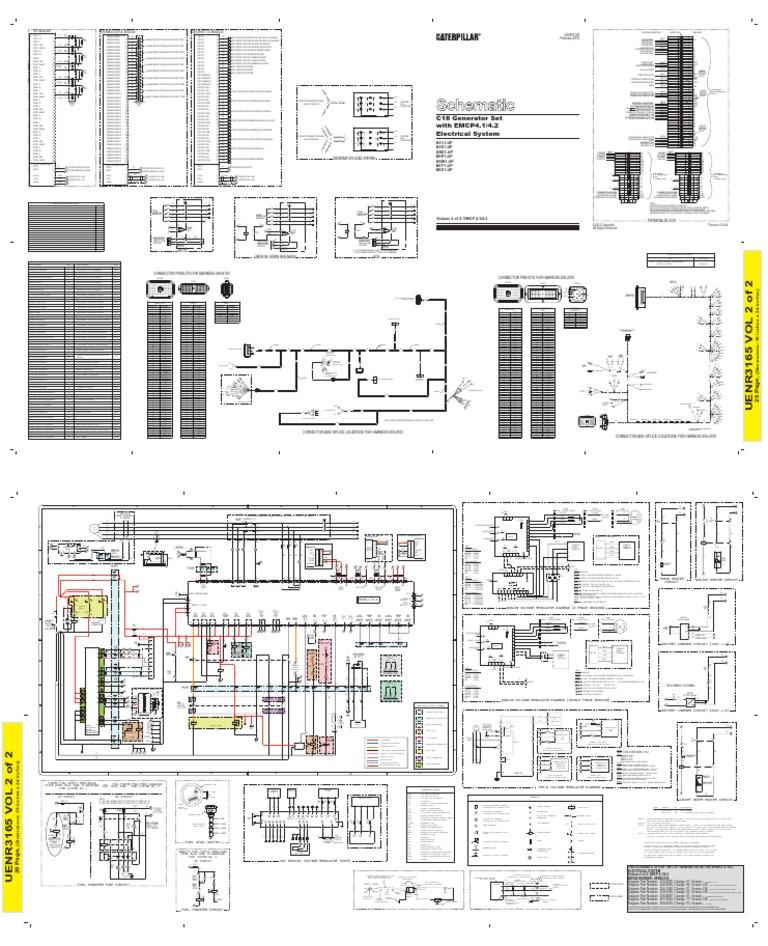 c18 - Emcp4.2 Wiring