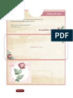 Sobre Para Regalar Dinero Para Imprimir en Casa Gratis - Tarjetas de Cumpleaños de Papel Gratis - Correomagico