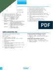 Design Data for Grating