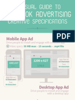 Visual Guide to Facebook Advertising Creative & Copy Specifications