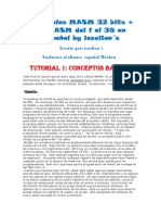 Tutoriales MASM 32 bits + RAD ASM del 1 al 35 en Español
