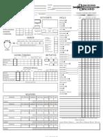 Mad Irishman D&D Sheet