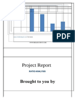 Project Report on Finance Ration- Analysis Mbahotspot