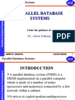 Copy of Parallel Database Systems