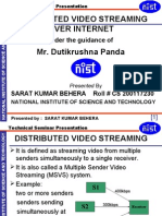 Cs- Distributed Video Streaming Over Internet