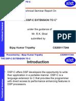 Cs--dsp c Extension to c
