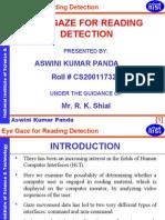 Cs--eye Gaze for Reding Detection
