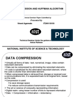 Data Compression and Huffman Algorithm