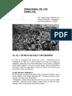EL DÍA INTERNACIONAL DE LOS TRABAJADORES (VII)