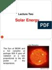 Lecture Solar