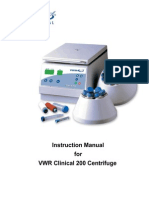 Vwr Clinical 200 Large Capacity Centrifuge