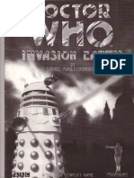 Doctor Who Invasion Earth - Main Rules