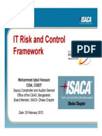 IT Risk and Control Framework