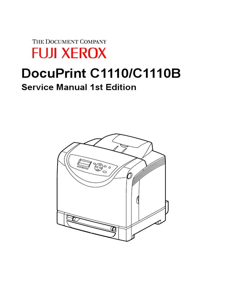 FujiXerox C1110 Service Manual | Electrical Connector | Troubleshooting